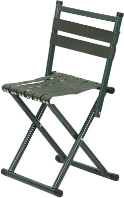 Tied Ribbons Metal Outdoor Chair(Finish Color - Green)