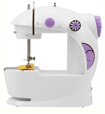 AKHI AKHI™ Ming Hui Portable 4 in 1 Mini Electric Sewing Machine ( Built-in Stitches 1) Electric Sewing Machine( Built-in Stitches 2)
