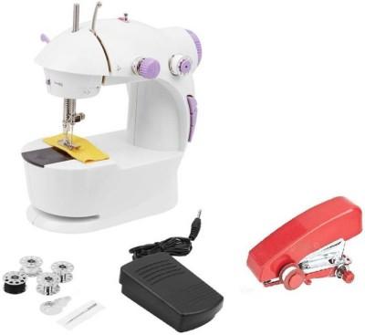 akhi Stapler Machine & Wotel Mini Electric Sewing Machine Electric Sewing Machine( Built-in Stitches 45)