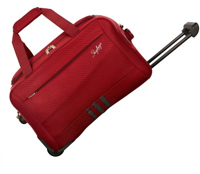 Skybags 20 inch/50 cm Italy Duffel Strolley Bag(Red) at flipkart