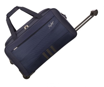Skybags 24 inch/60 cm Italy Travel Duffel Bag (Blue)