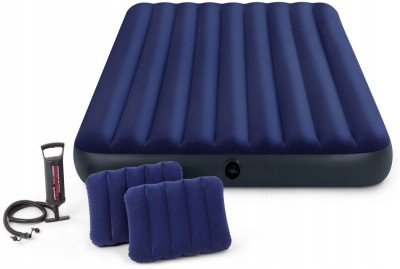 INTEX 68765 PVC (Polyvinyl Chloride) 2 Seater Inflatable Sofa(Color - mullti - color, DIY(Do-It-Yourself))