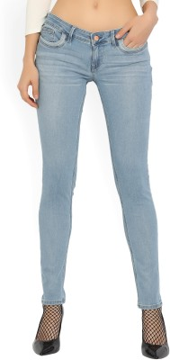 Lee Skinny Women Light Blue Jeans at flipkart