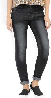 Lee Skinny Women Dark Blue, Black Jeans at flipkart