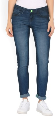 Lee Slim Women Blue Jeans at flipkart