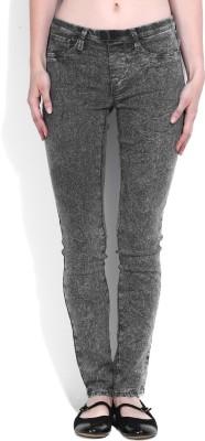 Lee Skinny Women Grey Jeans at flipkart
