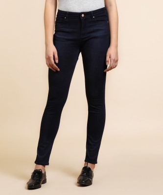 Lee Slim Women Dark Blue Jeans at flipkart