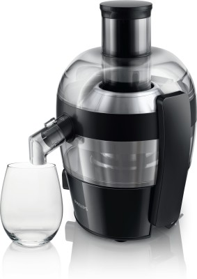 Philips HR1832/00 500 W Juicer(Ink Black, 1 Jar)