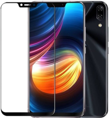 GALEX Edge To Edge Tempered Glass for Asus Zenfone 5Z F1 6D Full Glue Tempered Glass (Black) | 6D Tempered Glass For Asus Zenfone 5Z