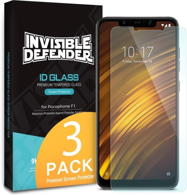 Ringke Tempered Glass Guard for POCO F1(Pack of 1) at flipkart