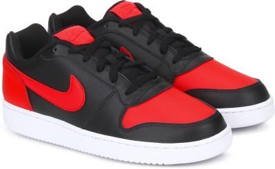 Nike EBERNON LOW Basketball Shoes For Men(Black) 1