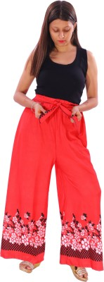 AZAD DYEING Regular Fit Women Red Trousers
