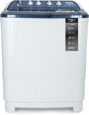 MarQ by Flipkart 8.5 kg Semi Automatic Top Load White, Blue(MQSA85DXI)