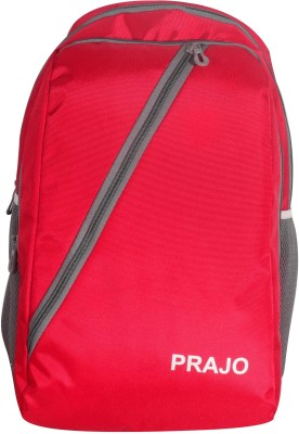 Prajo Barcelona Expandable School Bag School Bag(Black, 21 L)