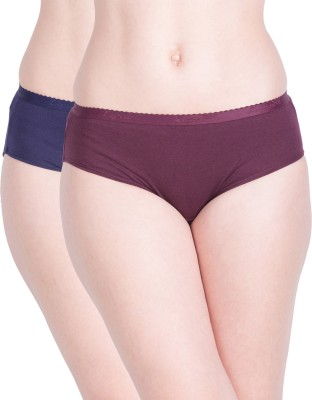Lux Lyra Women Hipster Multicolor Panty(Pack of 6)