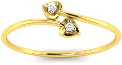 Avsar Swati 18kt Diamond Yellow Gold ring