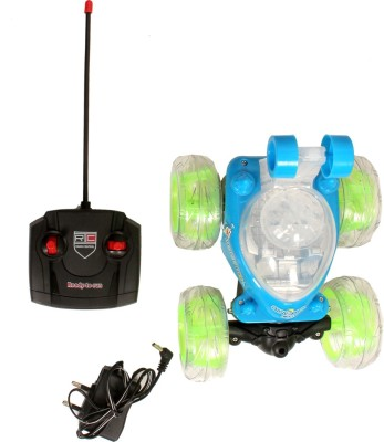 Sonphy Stunt Rolling Blue Car(Green, Blue) Flipkart