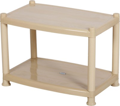 Patelraj Coffee Table | Engineered Wood SmartBuy Collapsible and Foldable Plastic Coffee Table(Finish Color - Beige)
