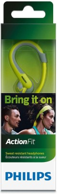 Philips SHQ1250TLF/00 Wired Headphone(Chartreuse Green, Over the Ear)