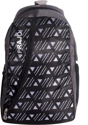 Prajo Vegas Expandable School bag School Bag(Red, 21 L)