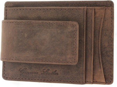 Adam Zac 6 Card Holder(Set of 1, Brown)