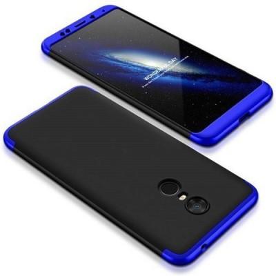 Surestuff Back Cover for Mi Redmi Note 4 BLUE  Black
