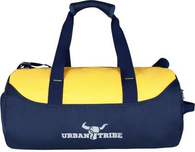 Urban Tribe Bolt Gym Duffel Bag Yellow Urban Tribe Duffel Bags