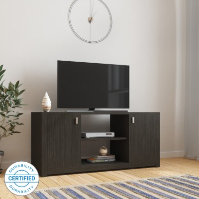 d7feefafb 39% OFF on Spacewood Classy Engineered Wood TV Entertainment Unit(Finish  Color - Black) on Flipkart