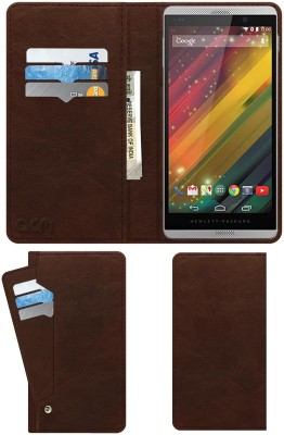 ACM Flip Cover for Hp Slate 6 Voicetab 2(Brown, Cases with Holder)
