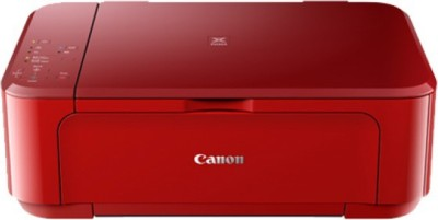 Canon PIXMA MG3670 Multi function Wireless Printer Red, Ink Cartridge