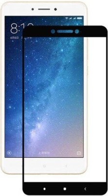MD ORIGINAL Screen Guard for 9H Hardness, 2.5D Curved Edge, Ultra Clear Anti-Fingerprints Tempered Glass for Xiaomi Mi Max2 (Black)(Pack of 1)