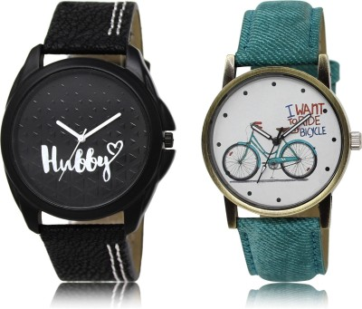 Woxen New Casual And Formal Stylish Attractive Analogue Combo-LR-31-229-COMBO Watch  - For Boys & Girls