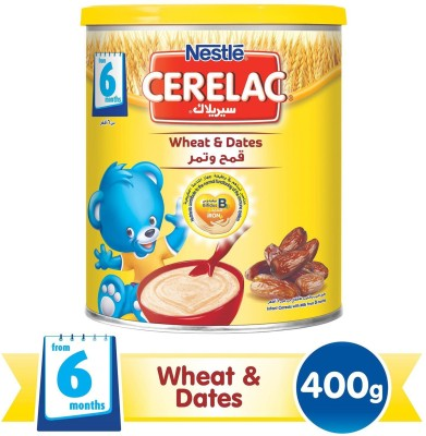 Nestle Cerelac Wheat & Dates - 400g (Imported) Cereal(400 g)