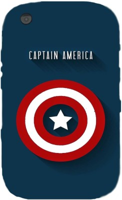 Mystry Box Back Cover for Blackberry Curve 9220(Captain America, Grip Case, Silicon)
