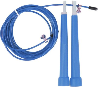 HAWKISH PREMIUM QUALITY SPEED WIRE SKIPPING ROPE (COLOR MY VARY) Speed Skipping Rope(Blue, Length: 0 inch)
