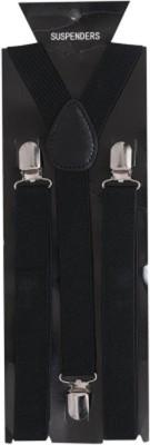 Mr Willian Y  Back Suspenders for Men, Women, Boys Black