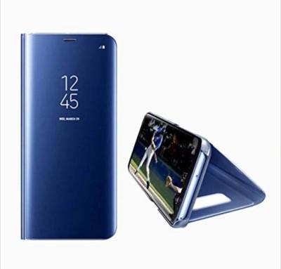 Vibhar Flip Cover for Samsung Galaxy S6 Edge Plus Blue