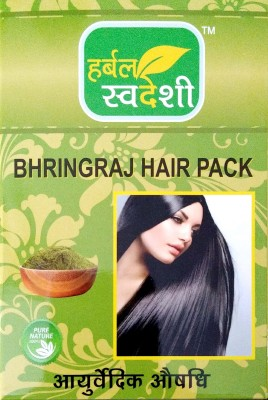 HERBAL SWADESHI Bhringraj Hair pack(300 g)