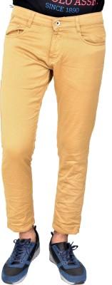 JG FORCEMAN Regular Men Brown Jeans