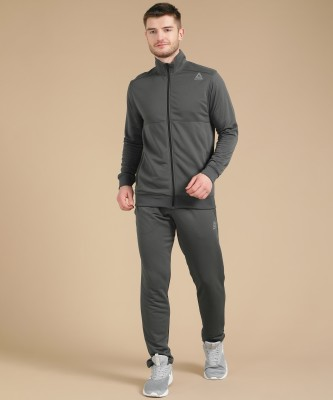 REEBOK Solid Men Track Suit