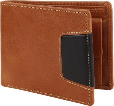 Rosset Boys Casual Brown Genuine Leather Wallet 7 Card Slots