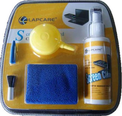 lapcare 5-in-1 Screen Cleaning Kit with Suction Balloon for Computers, Laptops, Mobiles(screen cleaner)