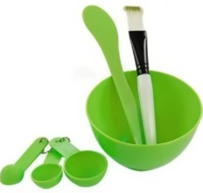 BOXO Facial Bleach Bowl, Bleach Bowl Set For Home use, green(Set of 6)