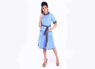 vestajo boutiqo Women A-line Blue Dress