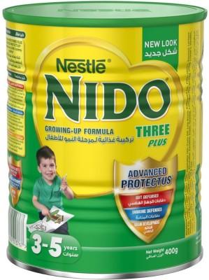 Nestle Nido Three Plus (Stage 4) - 400g(400 g, Upto 24 Months)