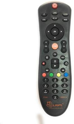 LRIPL LX325 DISH TV HD COMPATIBLE REMOTE FOR SET TOP BOX Remote Controller(Black)