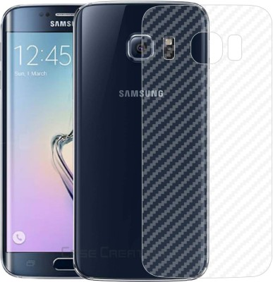 Case Creation Back Screen Guard for Samsung Galaxy S6 Edge(Pack of 1)