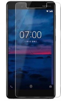 MD ORIGINAL Tempered Glass Guard for Edge to Edge Tempered Glass Screen Protector for Nokia 7 Plus - Black(Pack of 1)