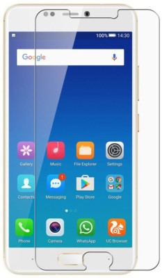MudShi Tempered Glass Guard for Samsung Galaxy A7 Pro(Pack of 1)