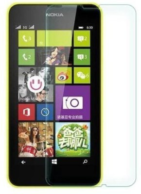 BHRCHR Tempered Glass Guard for Nokia Lumia 630(Pack of 1)